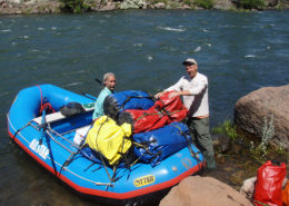 Rafting the Deschutes River for Redsides
