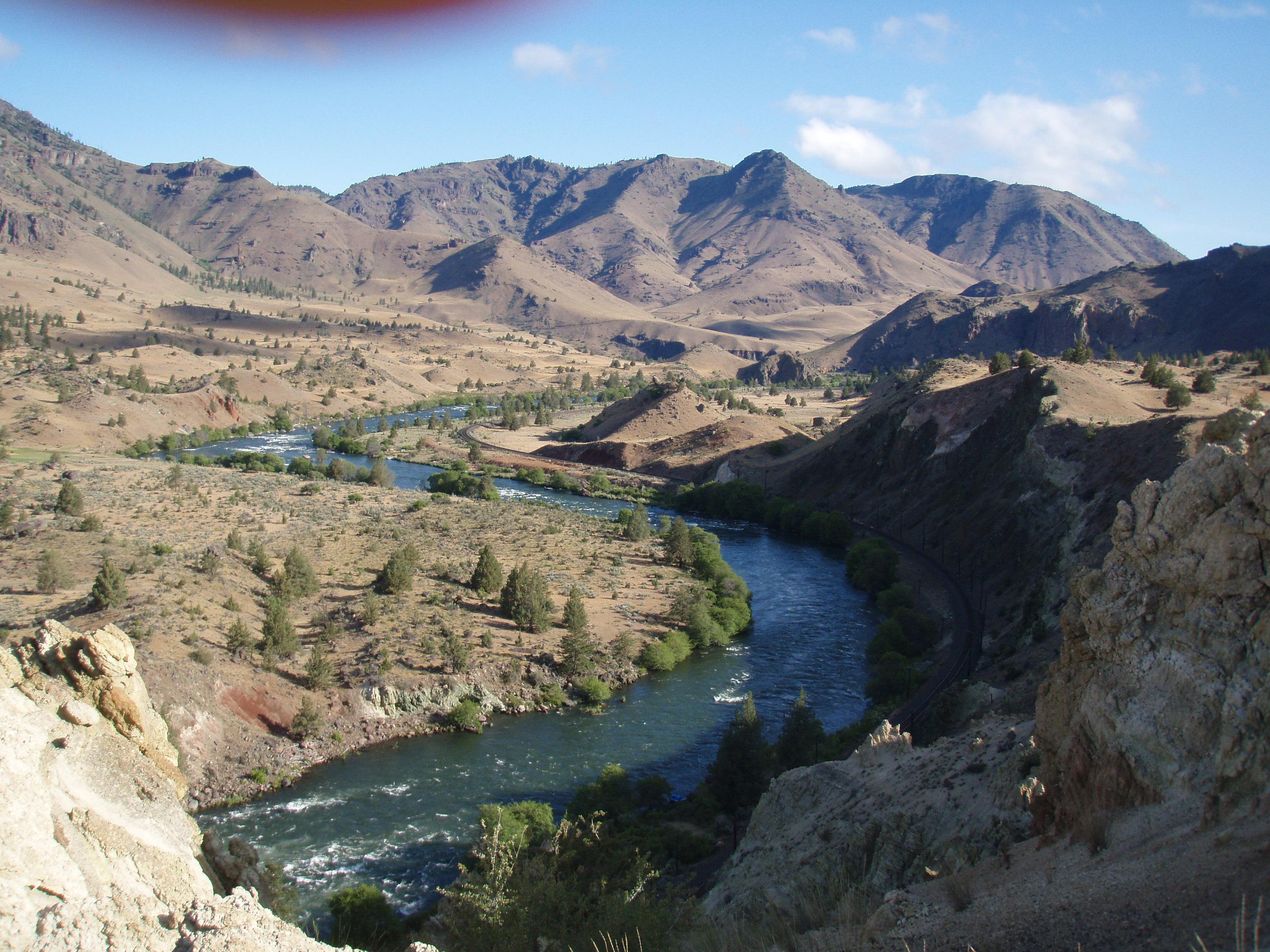 Rafting for Deschutes River Redsides - Dennis Dauble
